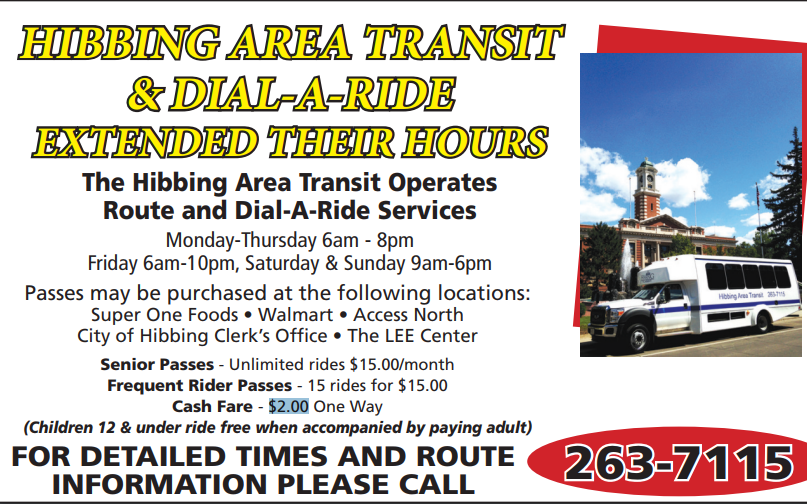 Hibbing Area Transit Photo